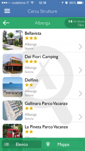 App Campeggi Villaggi